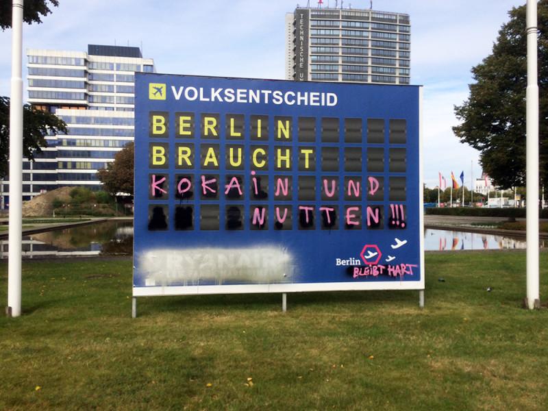 Volksentscheid Flughafen Tegel