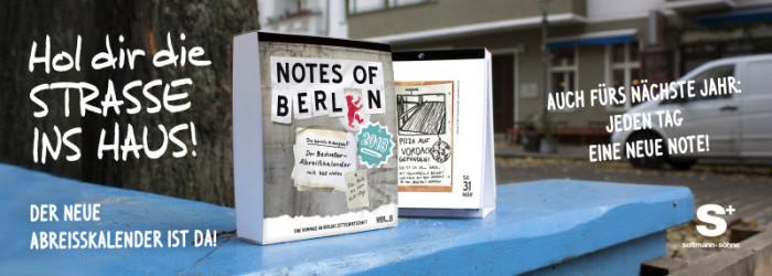 Notes of Berlin Kalender 2018