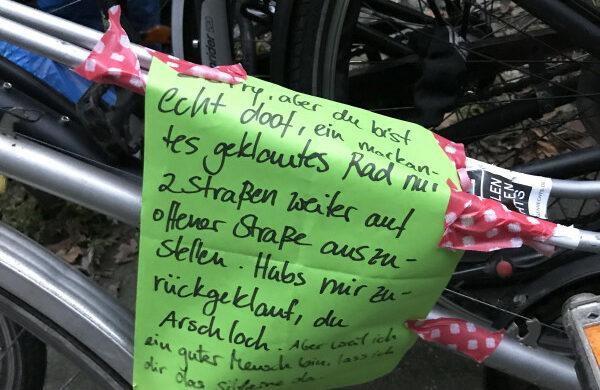 Fahrrad geklaut gestohlen Kreuzberg
