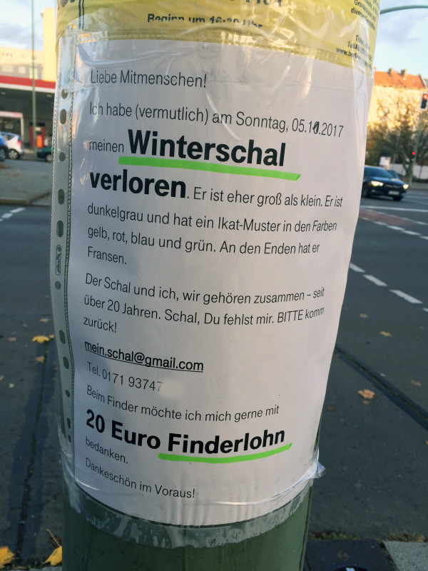 Winterschal Berlin