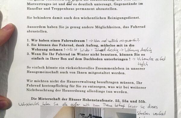 Notes of Berlin Zettel Blog