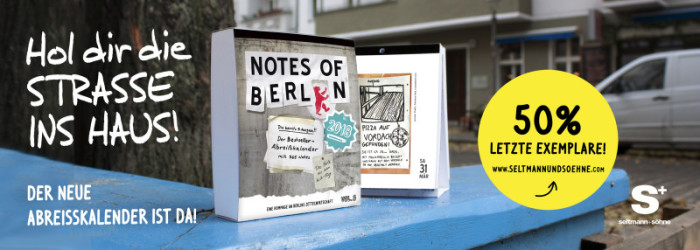Notes of Berlin Kalender