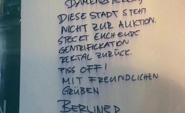 Gentrifizierung Berlin