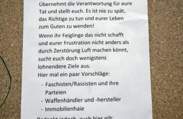 Musikhandlung Bading Rixdorf Brandanschlag