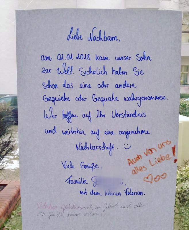 Babyzuwachs Berlin