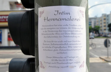 Intim Hennmalerei Berlin