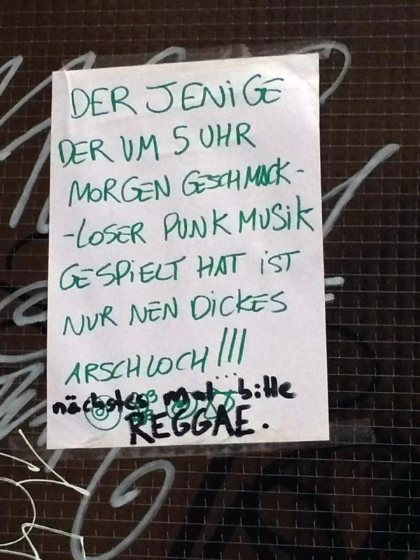 laute Musik Nachbarschaft
