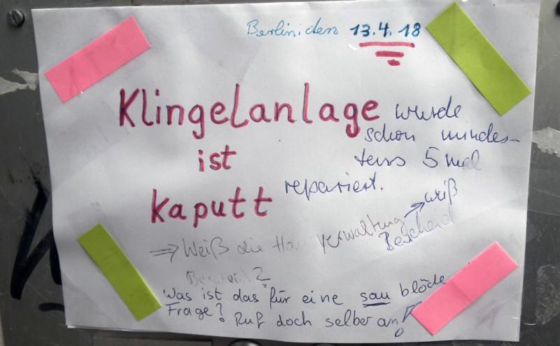Berliner sind unfreundlich