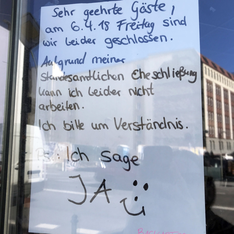 Heiraten in Berlin