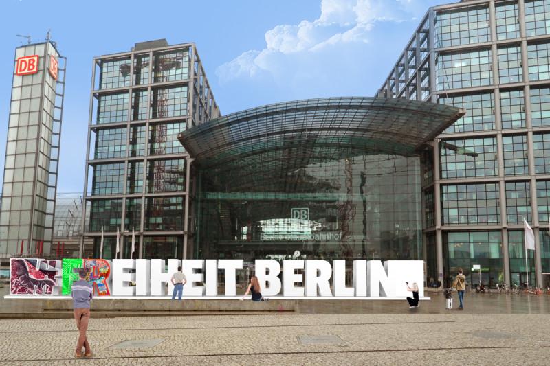 freiheit berlin hauptbahnhof