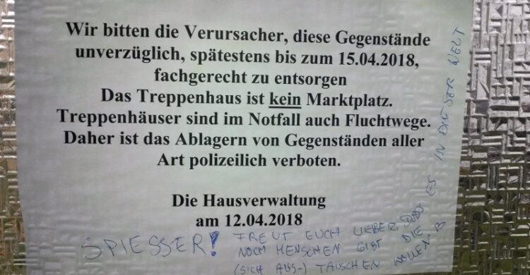 problem mit hausverwaltung berlin