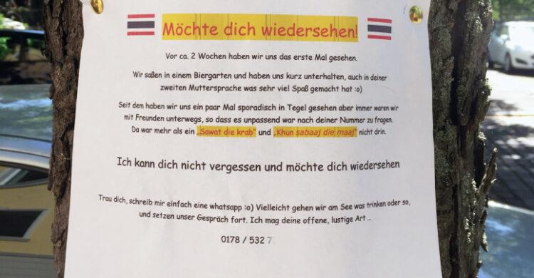 flirten im biergarten berlin