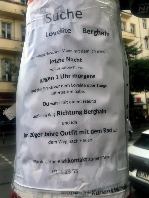 Feiern in Berlin