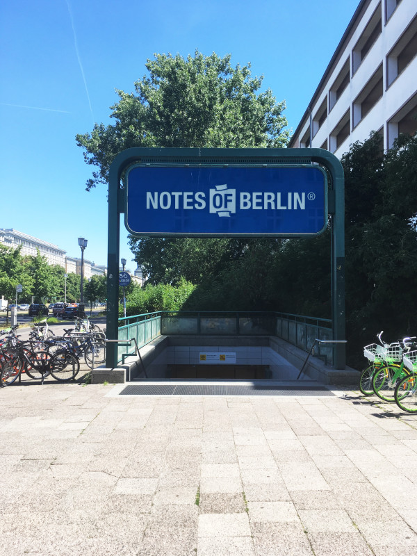 NOTES OF BERLIN Ausstellung