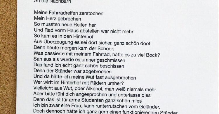 Gedicht über Berlin