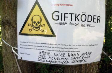 Hunde Giftköder Berlin