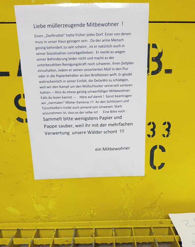 Umweltbewusstsein in Berlin