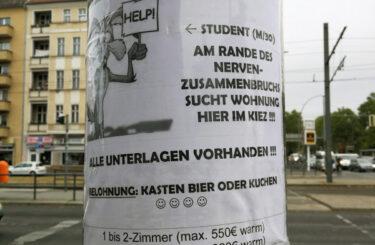 Wohnungssuche Berlin student
