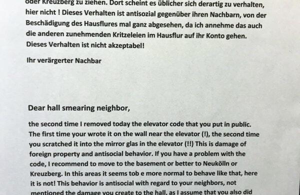 Berliner Nachbarn