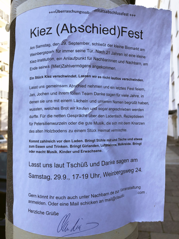 Bioladen Kiez Berlin