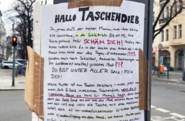 Taschendiebe Berlin