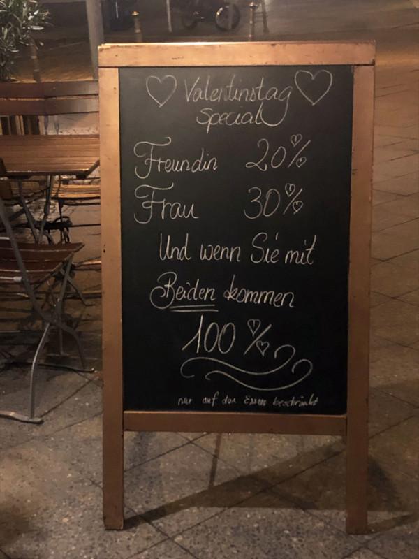Valentinstag Angebot Berlin