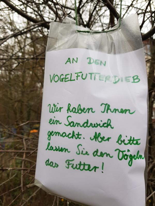 Vogelfutter Berlin