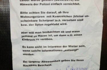 Einbrecher Berlin
