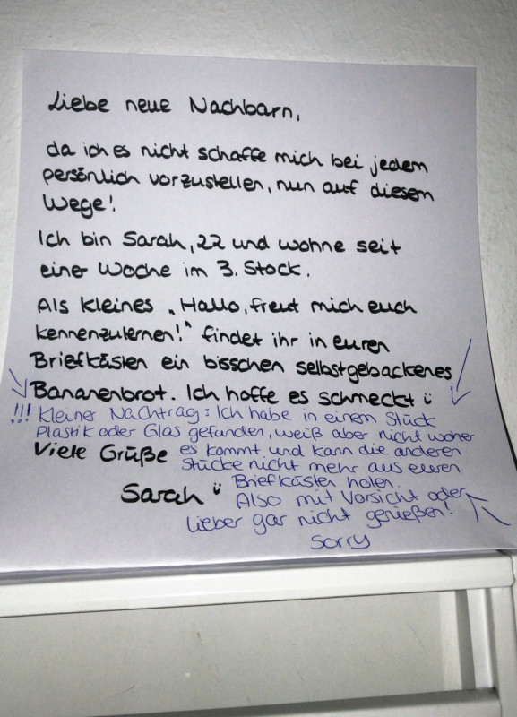 Berlin Blog Lustige Spruche Und Zettel Notes Of Berlin