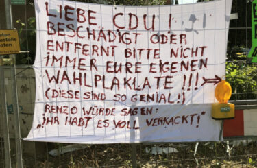 CDU Wahlplakat Berlin