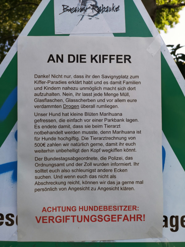kiffen in Berlin