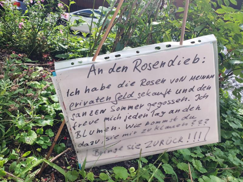Rosendieb