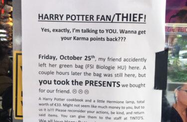 Harry Potter present