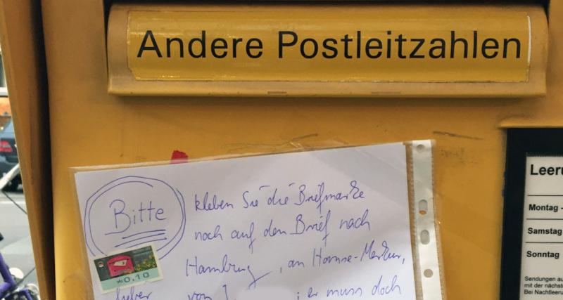 Brief Nicht Ausreichend Frankiert 2021