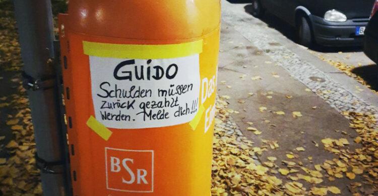 Schulden bezahlen Berlin