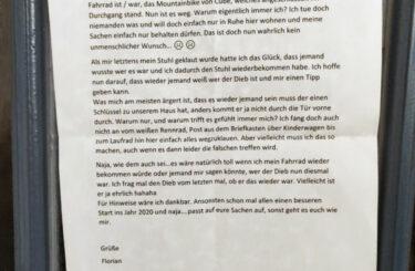 fahrrad gestohlen in berlin