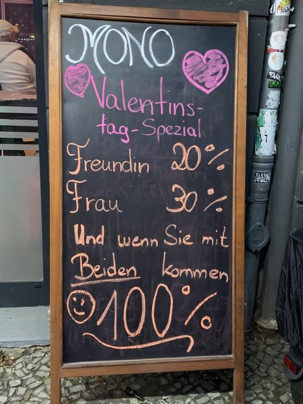 Valentinstag Berlin