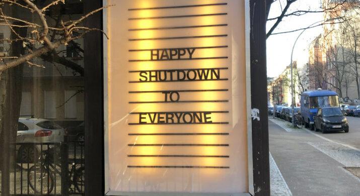 Corona Shutdown Berlin