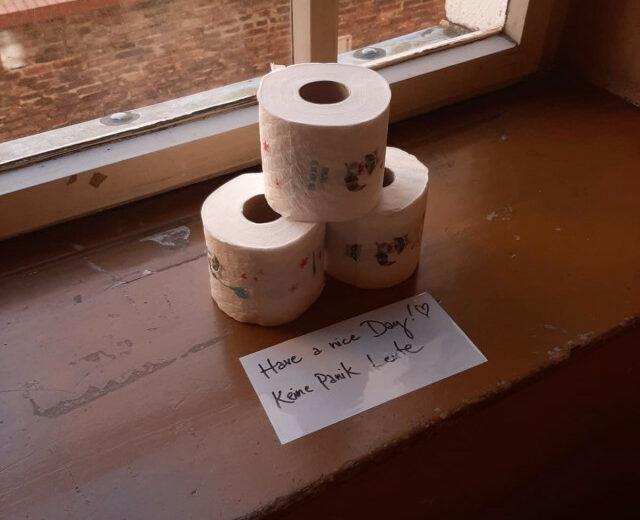 Corona Toilettenpapier