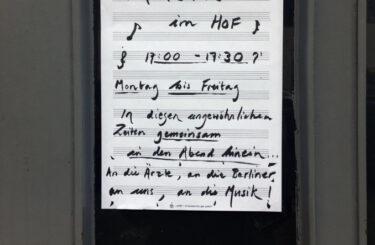 Corona Musik Nachbarn