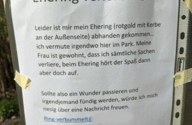 Ehering verloren Berlin