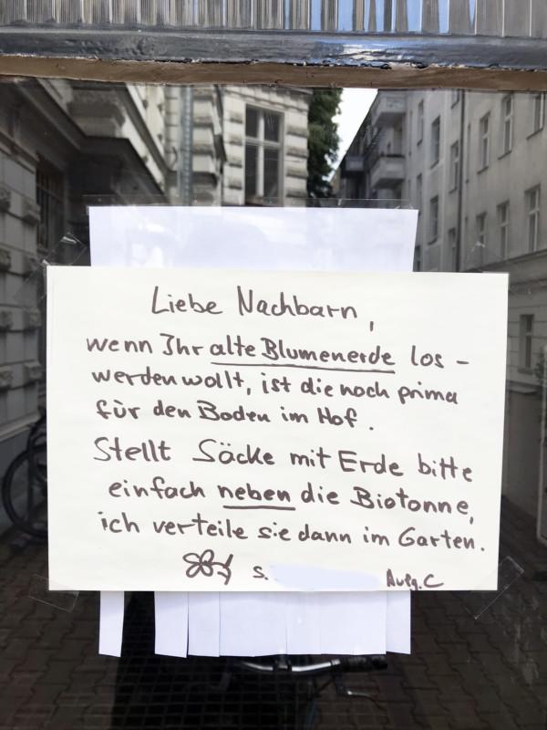 Blumenerde Berlin