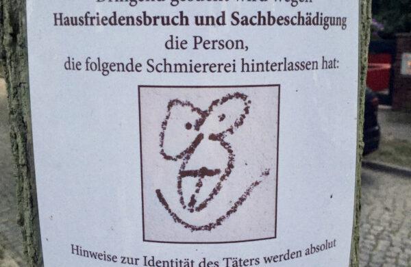 Sachbeschädigung Berlin