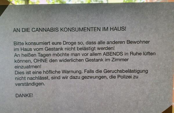 Cannabis Geruch