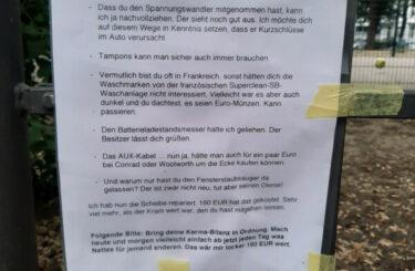 Vandalismus Berlin