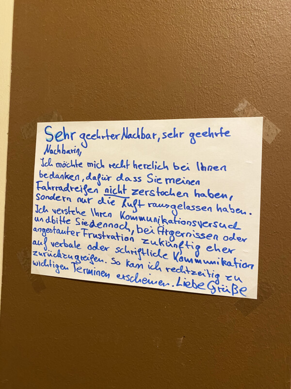 Vandalismus in Berlin