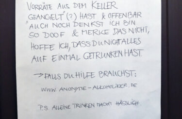 Anonyme Alkoholiker Berlin